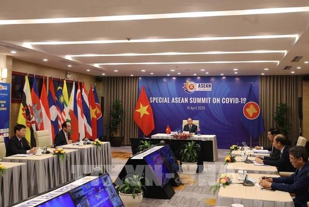2020东盟轮值主席国年:东盟秘书长林玉辉高度评价越南的领导作用 hinh anh 2