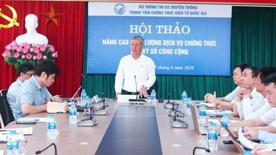 越南致力于扩大个人数字签名的市场 hinh anh 1