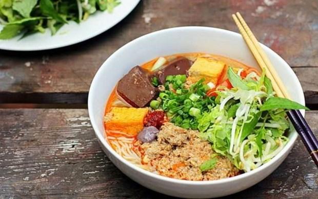 越南两道美食被列入亚洲美味面食名单 hinh anh 1