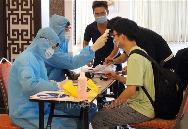 越南累计74天无新增本地病例 正在接受治疗的25人当中有10人检测结果呈阴性反应 hinh anh 1