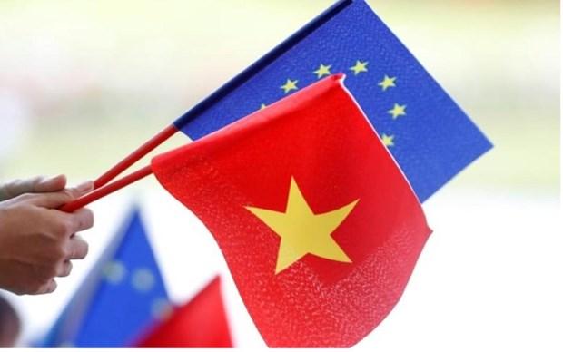 欧盟委员会:EVFTA将于8月1日生效 hinh anh 1