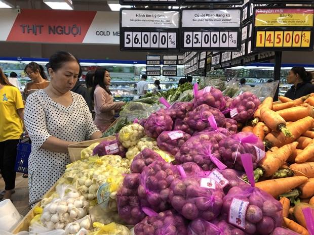胡志明市消费物价指数增长0.66% hinh anh 1