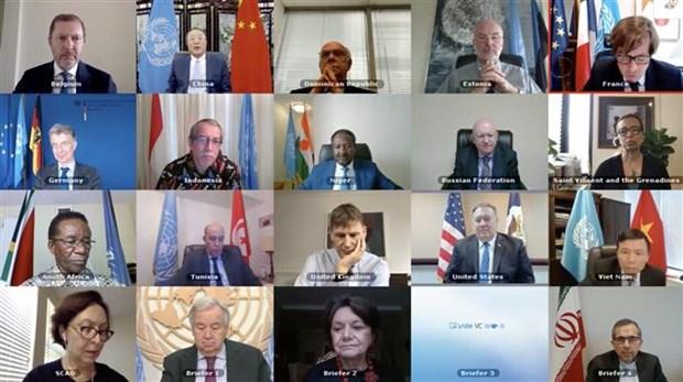 越南与联合国安理会:越南强调支持2015年核协议、不扩散核武器的立场 hinh anh 1