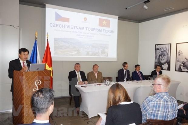 越南与捷克加强旅游领域的合作 hinh anh 1