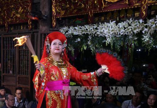 推崇越南人祀母信仰的美好价值 hinh anh 1