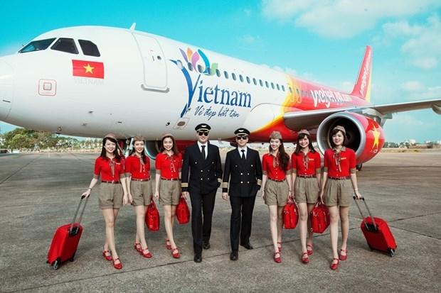 越捷航空推出200多万张五折机票让游客轻松出行尽情享受越南美景 hinh anh 1