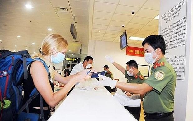 外国公民出入境越南须知的新规定 hinh anh 1