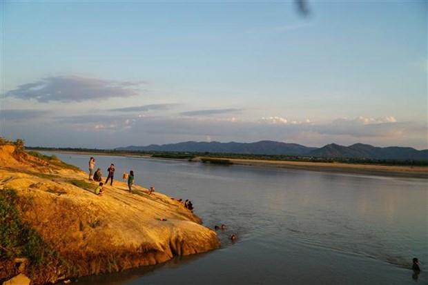 越南发现距今约2亿年的菊石化石 hinh anh 2