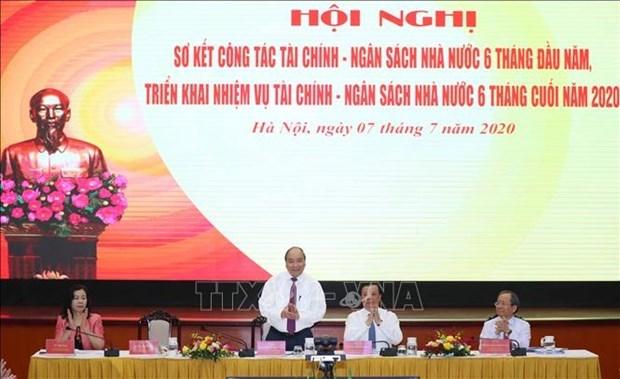 政府总理阮春福:财政部门需主动为经济发展贡献更多资源 hinh anh 1