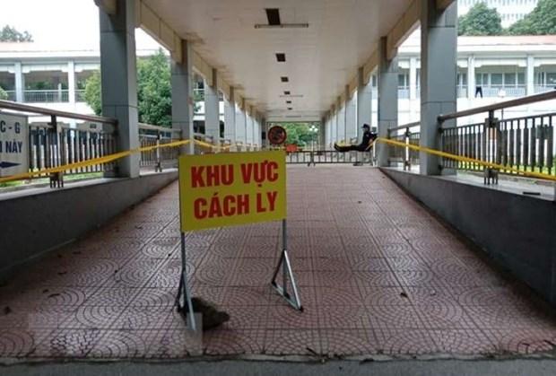 一名劳动人员非法入境被拘留并送往广宁省接受集中隔离 hinh anh 1