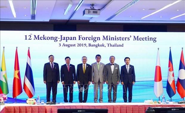 日本和越南将共同主持召开第十三届湄公河与日本部长级会议 hinh anh 1
