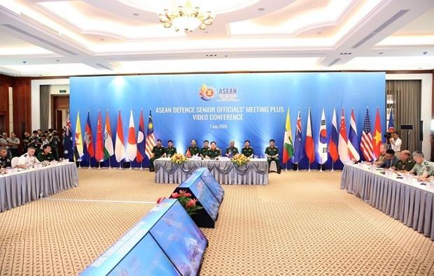 越南国防部召开东盟国防高级官员扩大会议 hinh anh 1