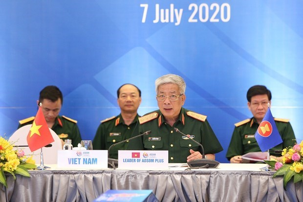 越南国防部召开东盟国防高级官员扩大会议 hinh anh 3
