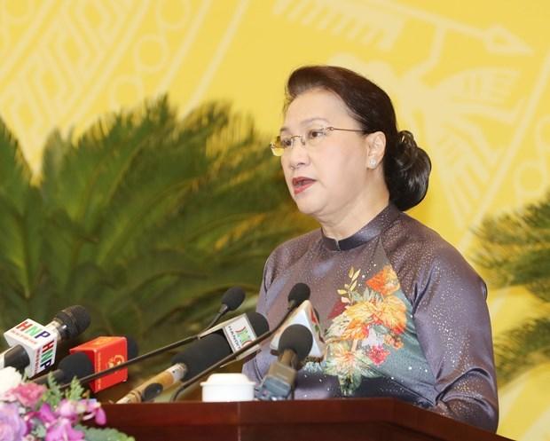 国会主席:平福省应充分发挥少数民族潜在优势 实现全面且可持续发展目标 hinh anh 1