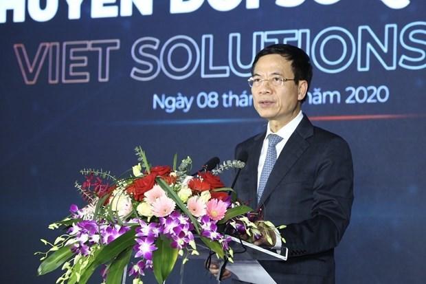 越南数字化转型解决方案竞赛活动昨日在河内启动 hinh anh 1