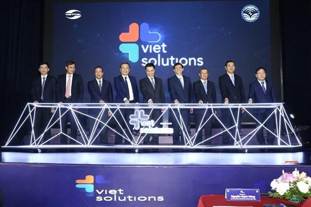 越南数字化转型解决方案竞赛活动昨日在河内启动 hinh anh 2