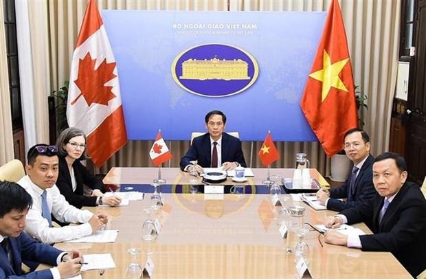 越南与加拿大举行第二次副外长级政治磋商 hinh anh 2