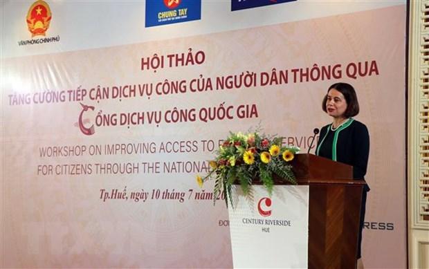澳大利亚援助越南提高公共行政治理绩效 hinh anh 1