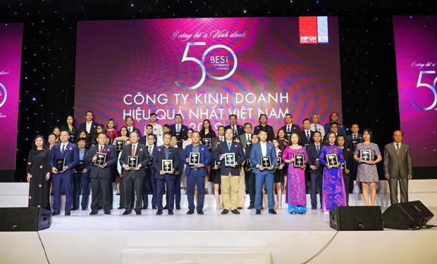 越捷航空公司跻身2019年越南最佳运营绩效公司前三名 hinh anh 1
