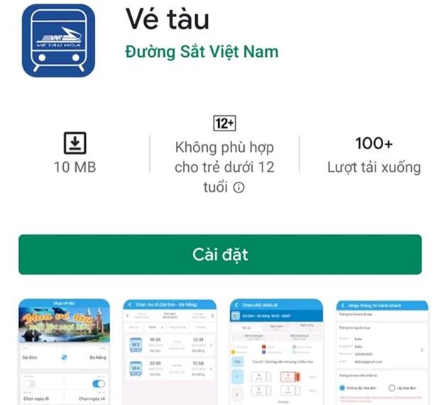 越南铁路总公司手机购票及在线支付应用程序将于7月15日正式上线 hinh anh 2