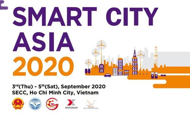2020年亚洲智慧城市国际展将于9月3日至5日在胡志明市举行 hinh anh 2