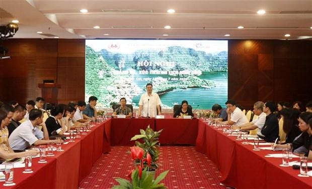 越南旅游:加强老街省与宁平省旅游对接 hinh anh 1
