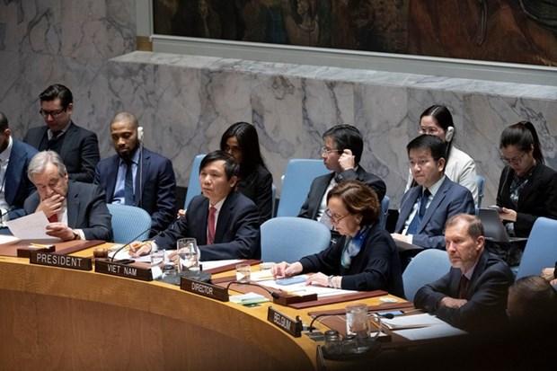 越南与联合国安理会:联合国安理会上半年的活动盘点及越南的作用和贡献 hinh anh 2
