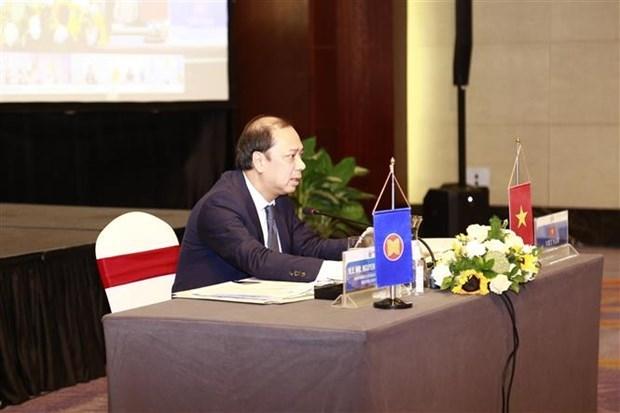东盟高官就制定东盟复苏总体计划进行讨论 hinh anh 2