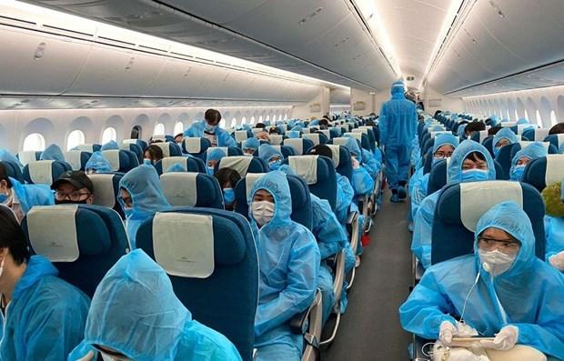 越航提醒越南公民不要购买来历不明的回国机票 hinh anh 1
