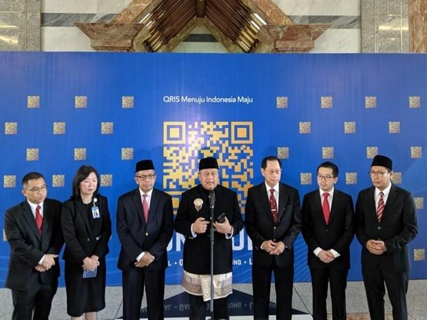 印尼使用快速响应码来监管外国公民 hinh anh 1
