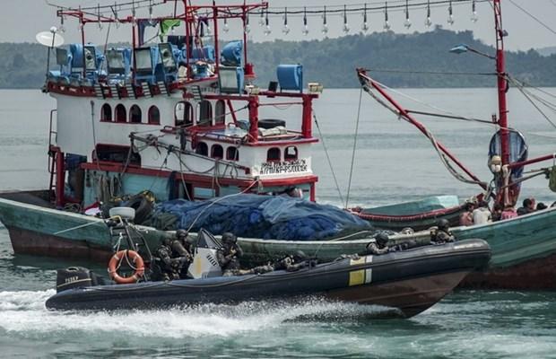 印尼改变对被扣留的外国渔船的处理政策 hinh anh 1