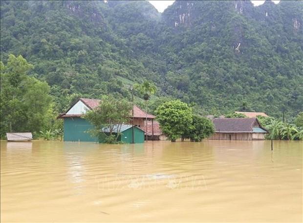 政府总理阮春福就自然灾害应对工作作出指示 hinh anh 1