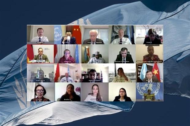 """越南出席联合国安理会召开题为""""冲突中的性暴力问题""""公开辩论会 hinh anh 1"""