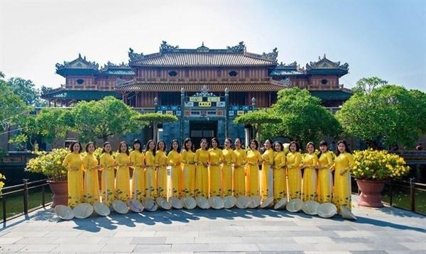 """承天顺化力争成为越南中部""""奥黛之城"""" hinh anh 1"""
