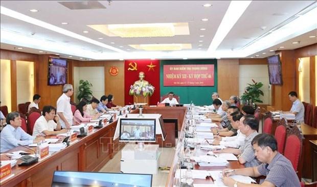越共中央检查委员会第46次会议:给予VEC副总经理黎光豪开除党籍处分 hinh anh 1