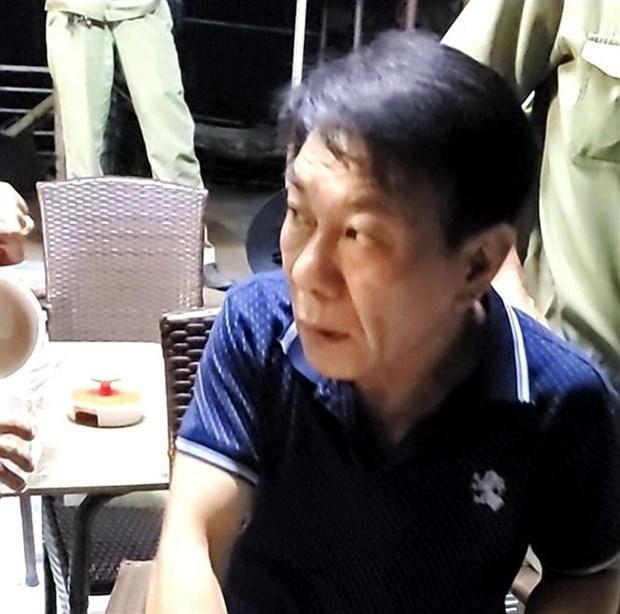 越南公安摧毁跨国贩毒团伙 头目为韩国人 hinh anh 1