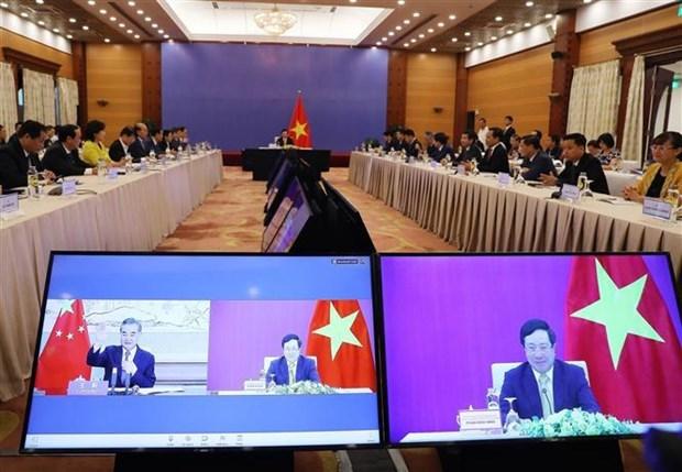 越中双边合作指导委员会第十二次会议以视频形式召开 hinh anh 3