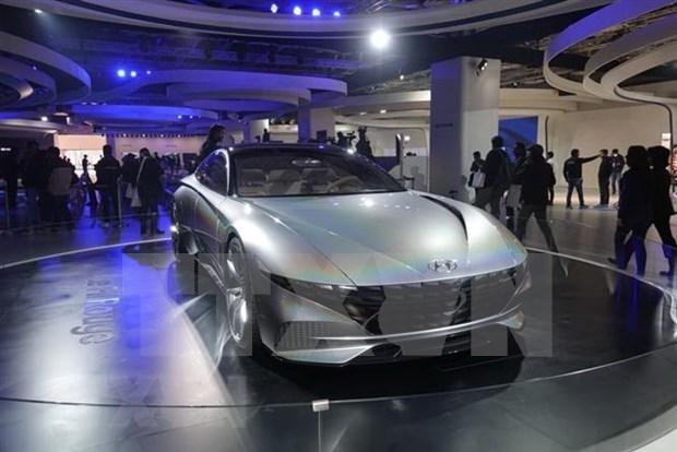 韩国汽车制造商在东盟六国的市场份额日益增加 hinh anh 1