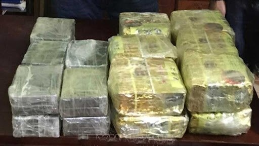 越南破获一起贩运毒品案 当场缉获19公斤海洛因 hinh anh 1