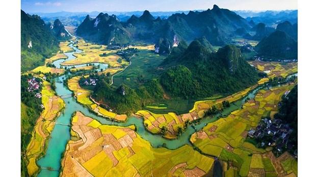 高平山水地质公园跻身世界最具吸引力的50个景点名单 hinh anh 1