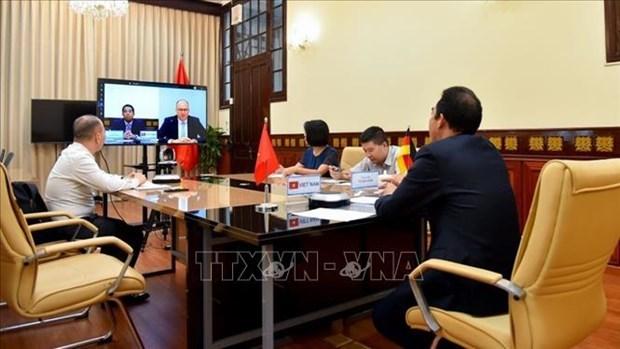 进一步深化越南与德国在各领域的战略伙伴关系 hinh anh 1