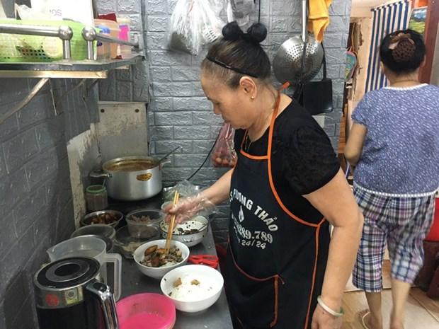 品尝征服国际食客并入选亚洲最佳食品的越式蟹汤米线 hinh anh 1