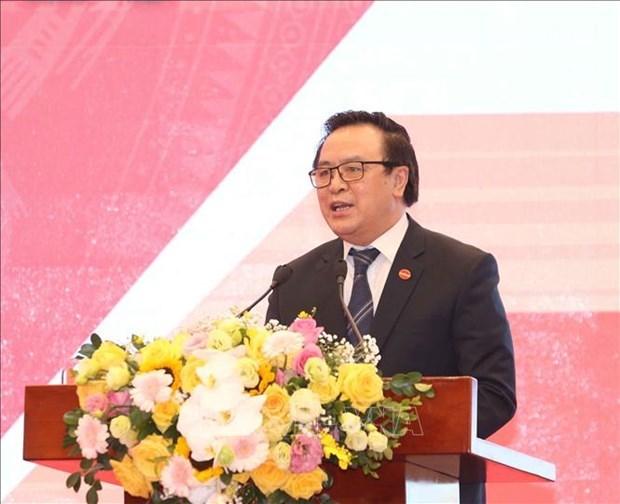 越共中央对外部同越南科学社会翰林院签署合作协议 hinh anh 1
