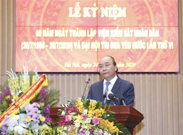 政府总理阮春福:检察部门需提高反腐斗争中的责任和本领 hinh anh 2