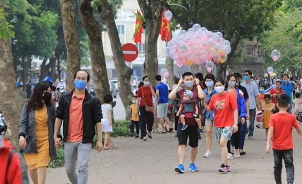 2020年7月河内接待游客量达近120万人次 hinh anh 1