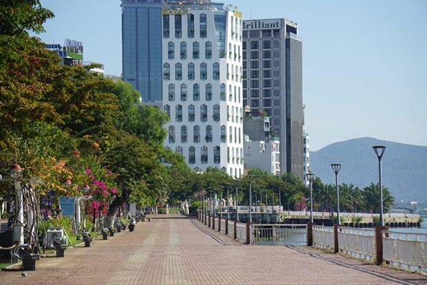 岘港市六个郡实施政府总理的社交距离措施 hinh anh 2