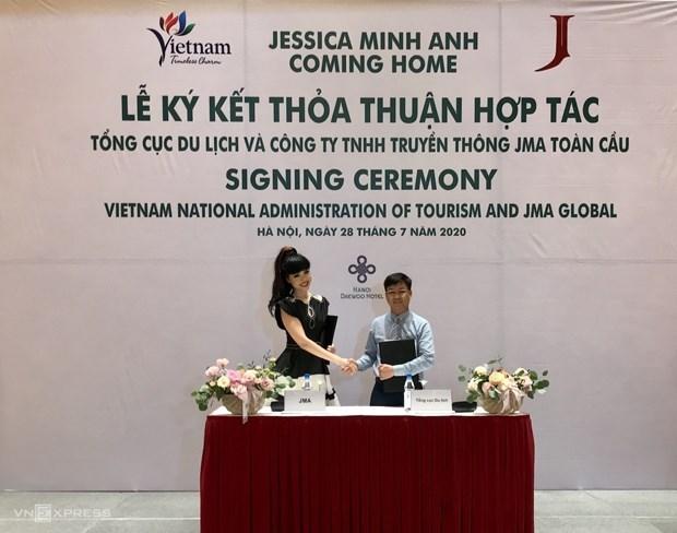 国际超模参与制作旅行体验节目以推广越南旅游形象 hinh anh 1