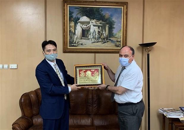 促进越阿两国国家通讯社间的合作关系 hinh anh 1