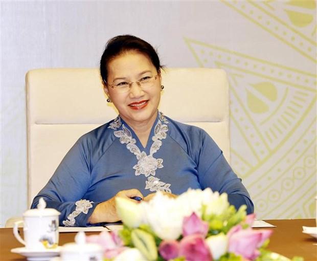 越南国会主席阮氏金银与新西兰议会议长通电话 hinh anh 2