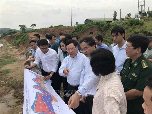 政府副总理范平明视察老街省部分边境地区 hinh anh 1